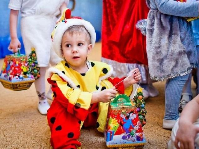Проведение Нового года в детском саду